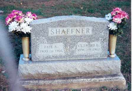 SHAFFNER, FAYE A. - Shelby County, Ohio | FAYE A. SHAFFNER - Ohio Gravestone Photos