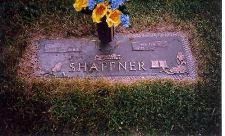 SHAFFNER, WILDA - Shelby County, Ohio | WILDA SHAFFNER - Ohio Gravestone Photos