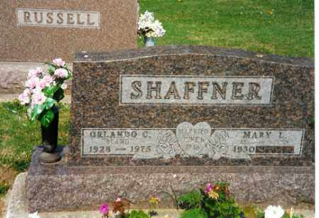 SHAFFNER, ORLANDO C. - Shelby County, Ohio | ORLANDO C. SHAFFNER - Ohio Gravestone Photos