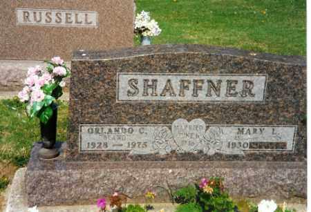 SHAFFNER, MARY L. - Shelby County, Ohio | MARY L. SHAFFNER - Ohio Gravestone Photos
