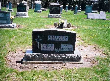 SHANER, MARTHA C. - Shelby County, Ohio | MARTHA C. SHANER - Ohio Gravestone Photos
