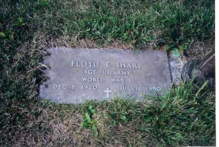 SHARP, FLOYD E - Shelby County, Ohio | FLOYD E SHARP - Ohio Gravestone Photos