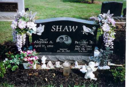 SHAW, ALOYSIUS A - Shelby County, Ohio | ALOYSIUS A SHAW - Ohio Gravestone Photos