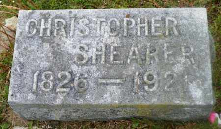 SHEARER, CHRISTOPHER - Shelby County, Ohio | CHRISTOPHER SHEARER - Ohio Gravestone Photos