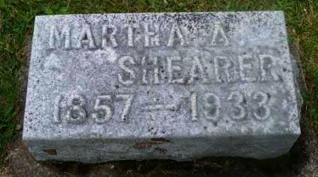 SHEARER, MARTHA A. - Shelby County, Ohio | MARTHA A. SHEARER - Ohio Gravestone Photos