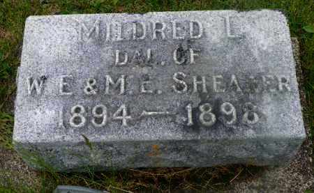 SHEARER, MILDRED L. - Shelby County, Ohio | MILDRED L. SHEARER - Ohio Gravestone Photos