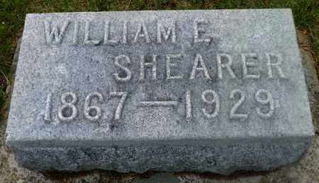 SHEARER, WILLIAM E. - Shelby County, Ohio | WILLIAM E. SHEARER - Ohio Gravestone Photos