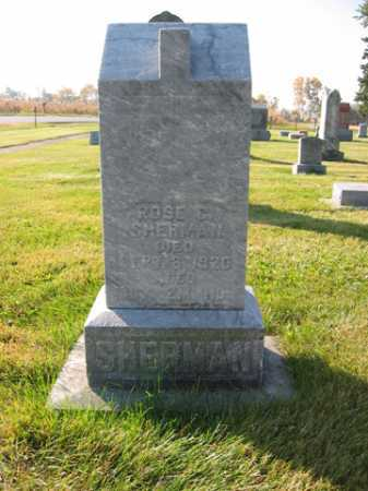 SHERMAN, ROSE C. - Shelby County, Ohio | ROSE C. SHERMAN - Ohio Gravestone Photos