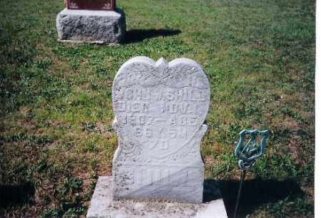 SHILL, JOHN - Shelby County, Ohio | JOHN SHILL - Ohio Gravestone Photos