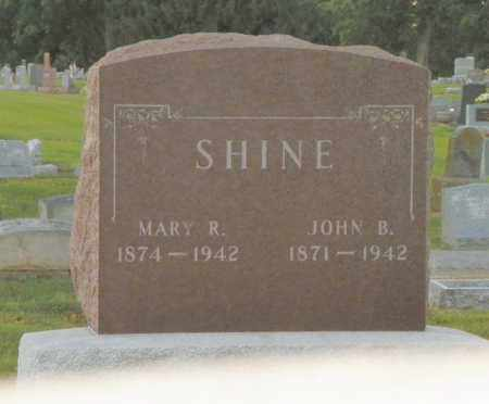SHINE, JOHN B. - Shelby County, Ohio | JOHN B. SHINE - Ohio Gravestone Photos
