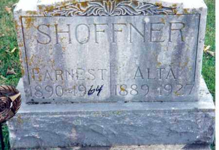 SHOFFNER, EARNEST - Shelby County, Ohio | EARNEST SHOFFNER - Ohio Gravestone Photos