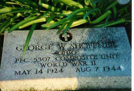 SHOFFNER, GEORGE WALDO - Shelby County, Ohio | GEORGE WALDO SHOFFNER - Ohio Gravestone Photos
