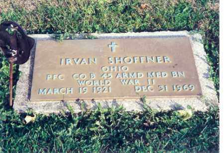 SHOFFNER, IRVAN - Shelby County, Ohio | IRVAN SHOFFNER - Ohio Gravestone Photos
