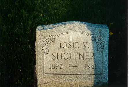 SHOFFNER, JOSIE V - Shelby County, Ohio | JOSIE V SHOFFNER - Ohio Gravestone Photos