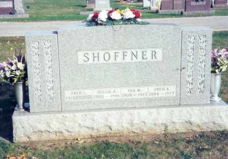 SHOFFNER, NELLIE - Shelby County, Ohio | NELLIE SHOFFNER - Ohio Gravestone Photos