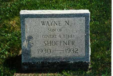SHOFFNER, WAYNE N. - Shelby County, Ohio | WAYNE N. SHOFFNER - Ohio Gravestone Photos