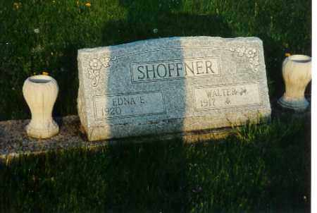 SHOFFNER, WALTER N. - Shelby County, Ohio | WALTER N. SHOFFNER - Ohio Gravestone Photos