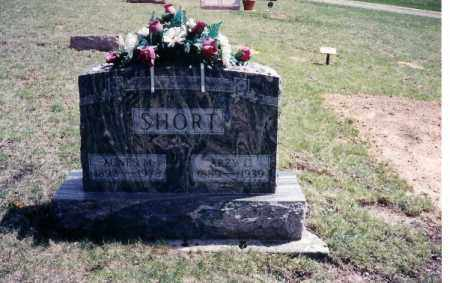SHORT, AGNES MABLE - Shelby County, Ohio | AGNES MABLE SHORT - Ohio Gravestone Photos