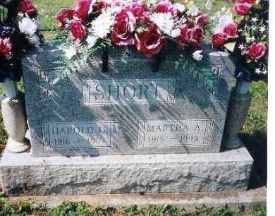 SHORT, HAROLD C. - Shelby County, Ohio | HAROLD C. SHORT - Ohio Gravestone Photos