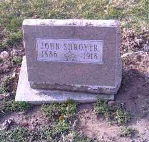 SHROYER, JOHN - Shelby County, Ohio | JOHN SHROYER - Ohio Gravestone Photos