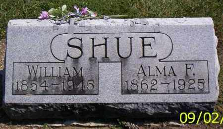 SHUE, WILLIAM - Shelby County, Ohio | WILLIAM SHUE - Ohio Gravestone Photos