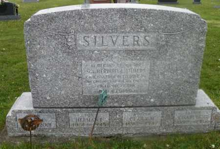 SILVERS, CARL E. - Shelby County, Ohio | CARL E. SILVERS - Ohio Gravestone Photos