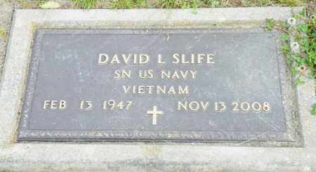 SLIFE, DAVID L. - Shelby County, Ohio | DAVID L. SLIFE - Ohio Gravestone Photos