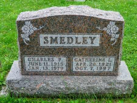 SMEDLEY, CHARLES F. - Shelby County, Ohio | CHARLES F. SMEDLEY - Ohio Gravestone Photos