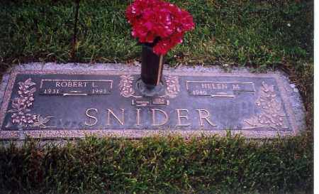 SNIDER, ROBERT L. - Shelby County, Ohio | ROBERT L. SNIDER - Ohio Gravestone Photos
