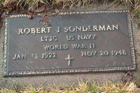 SONDERMAN, ROBERT J - Shelby County, Ohio | ROBERT J SONDERMAN - Ohio Gravestone Photos