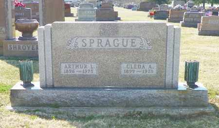 SPRAGUE, CLEDA A. - Shelby County, Ohio | CLEDA A. SPRAGUE - Ohio Gravestone Photos