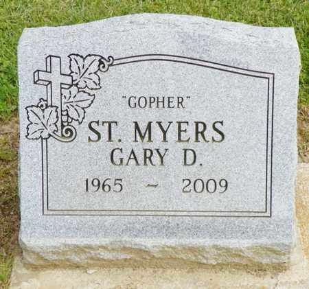 ST. MYERS, GARY D. - Shelby County, Ohio | GARY D. ST. MYERS - Ohio Gravestone Photos