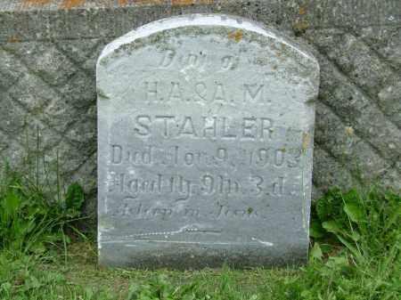 STAHLER, BESSIE - Shelby County, Ohio | BESSIE STAHLER - Ohio Gravestone Photos