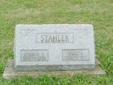 DAVIS STAHLER, MABEL E - Shelby County, Ohio | MABEL E DAVIS STAHLER - Ohio Gravestone Photos
