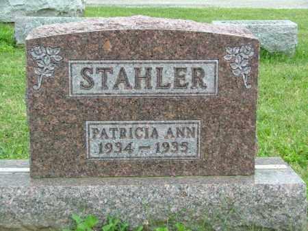 STAHLER, PATRICIA ANN - Shelby County, Ohio | PATRICIA ANN STAHLER - Ohio Gravestone Photos