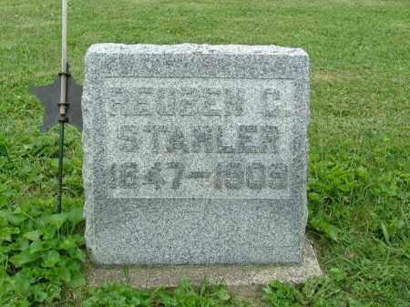STAHLER, REUBEN C - Shelby County, Ohio | REUBEN C STAHLER - Ohio Gravestone Photos