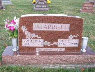 STARRETT, DOROTHY M. - Shelby County, Ohio | DOROTHY M. STARRETT - Ohio Gravestone Photos