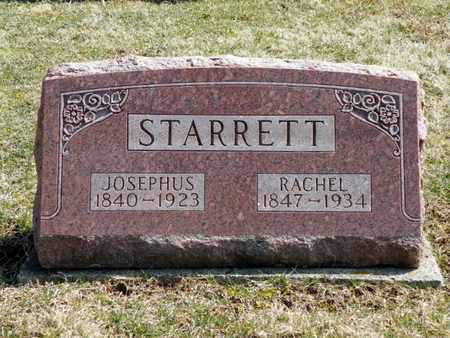 STARRETT, JOSEPHUS - Shelby County, Ohio | JOSEPHUS STARRETT - Ohio Gravestone Photos