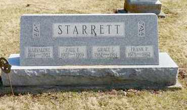 STARRETT, PAUL E. - Shelby County, Ohio | PAUL E. STARRETT - Ohio Gravestone Photos