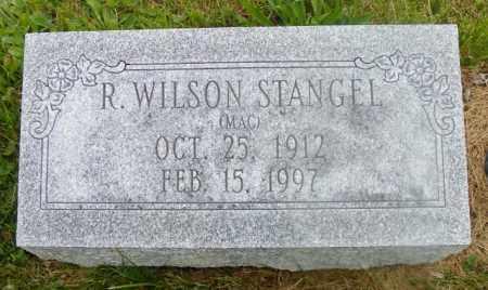STANGEL, R. WILSON - Shelby County, Ohio | R. WILSON STANGEL - Ohio Gravestone Photos