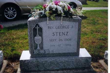 STENZ, REV GEORGE - Shelby County, Ohio | REV GEORGE STENZ - Ohio Gravestone Photos