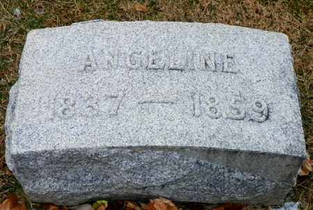 STEPHENSON, ANGELINE - Shelby County, Ohio | ANGELINE STEPHENSON - Ohio Gravestone Photos