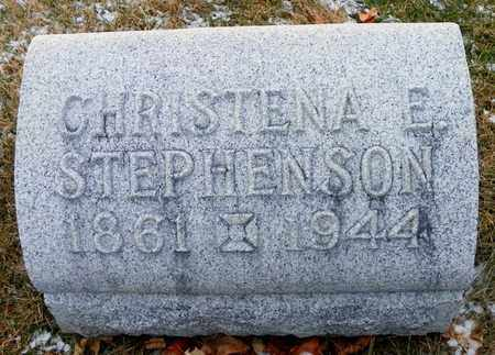 STEPHENSON, CHRISTENA E. - Shelby County, Ohio | CHRISTENA E. STEPHENSON - Ohio Gravestone Photos