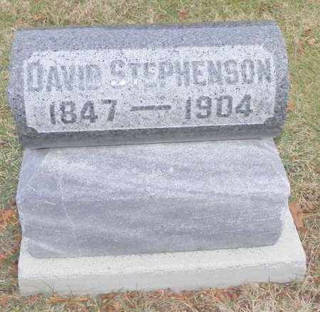 STEPHENSON, DAVID - Shelby County, Ohio | DAVID STEPHENSON - Ohio Gravestone Photos