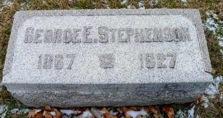 STEPHENSON, GEORGE E. - Shelby County, Ohio | GEORGE E. STEPHENSON - Ohio Gravestone Photos