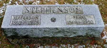 STEPHENSON, JEFFERSON - Shelby County, Ohio | JEFFERSON STEPHENSON - Ohio Gravestone Photos