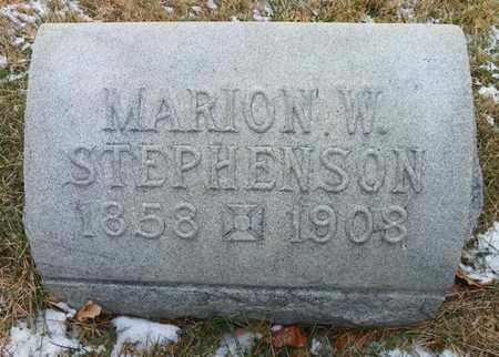 STEPHENSON, MARION W. - Shelby County, Ohio | MARION W. STEPHENSON - Ohio Gravestone Photos
