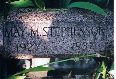 STEPHENSON, MAY M. - Shelby County, Ohio | MAY M. STEPHENSON - Ohio Gravestone Photos