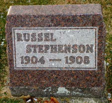STEPHENSON, RUSSEL - Shelby County, Ohio | RUSSEL STEPHENSON - Ohio Gravestone Photos
