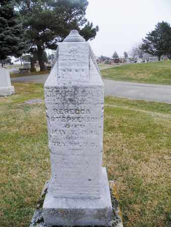 STEPHENSON, REBECCA - Shelby County, Ohio | REBECCA STEPHENSON - Ohio Gravestone Photos